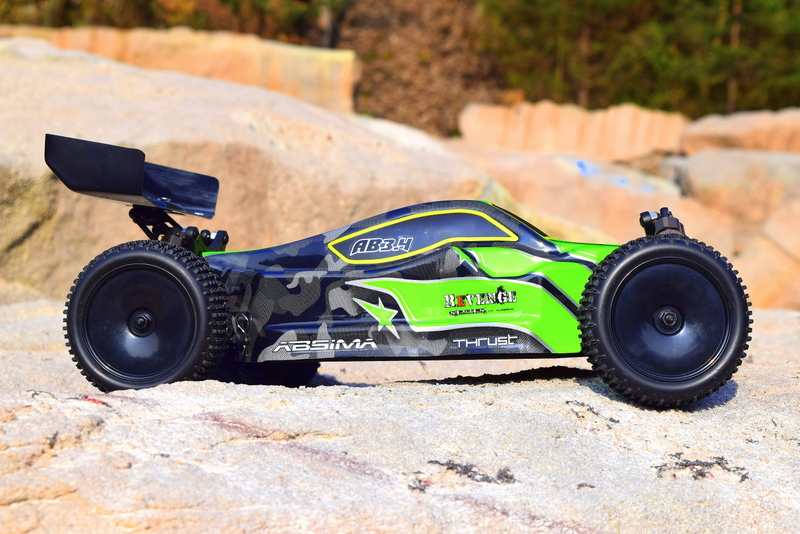 "1:10 EP Buggy ""AB3.4BL"" 4WD Brushless RTR - Bild 1"