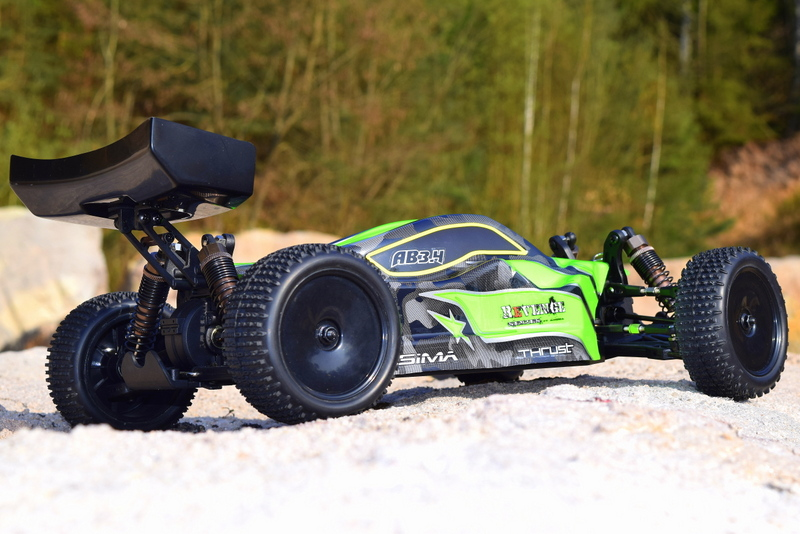 "1:10 EP Buggy ""AB3.4BL"" 4WD Brushless RTR - Bild 2"