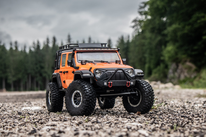 "1:10 EP Crawler CR3.4 ""SHERPA"" ORANGE RTR - Bild 1"