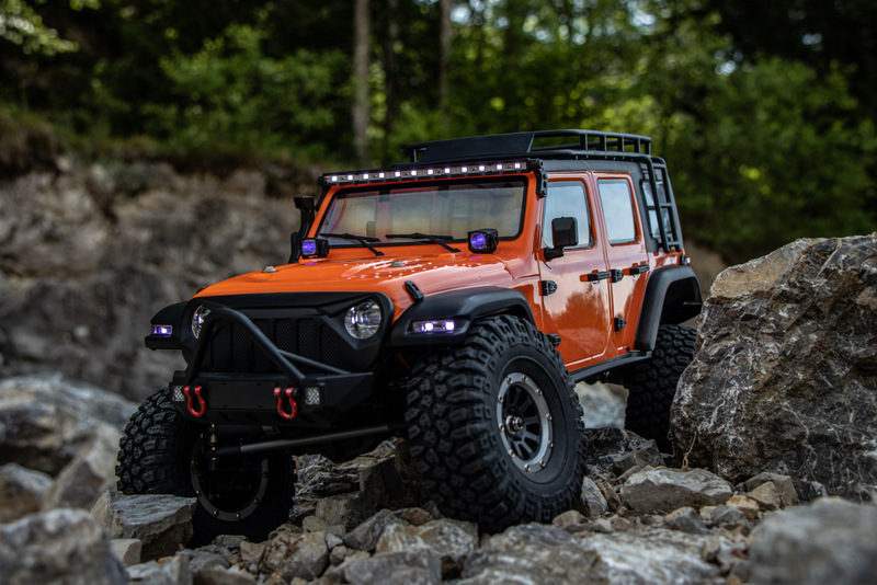 "1:10 EP Crawler CR3.4 ""SHERPA"" ORANGE RTR - Bild 2"