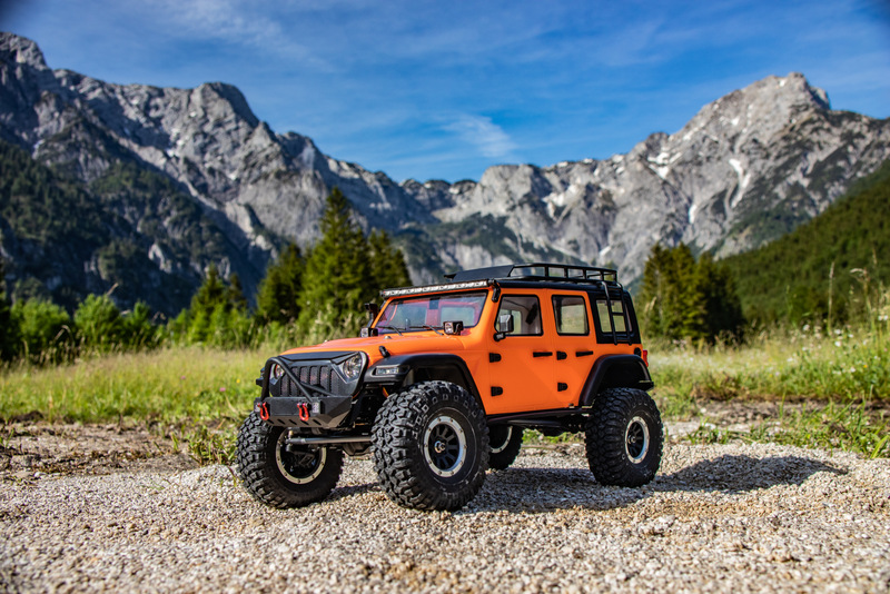 "1:10 EP Crawler CR3.4 ""SHERPA"" ORANGE RTR - Bild 12"