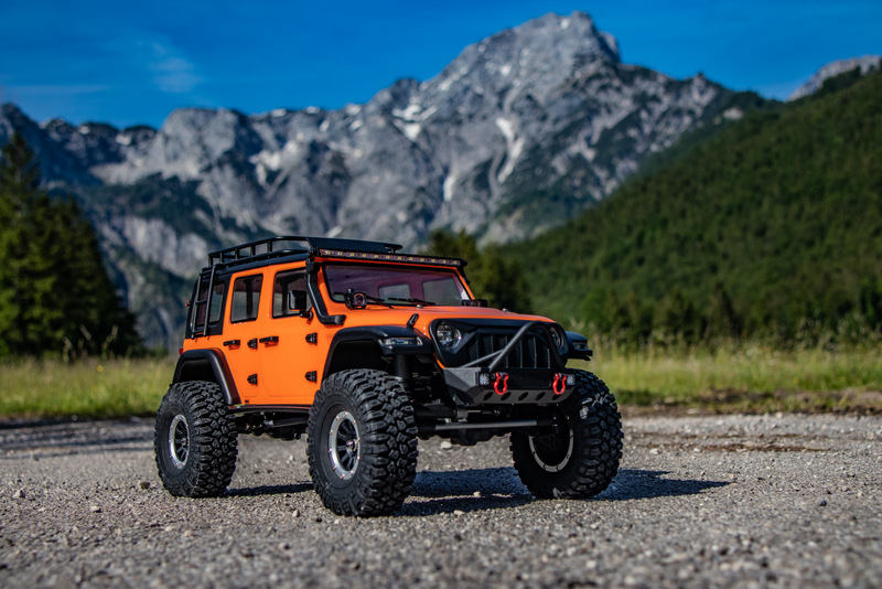 "1:10 EP Crawler CR3.4 ""SHERPA"" ORANGE RTR - Bild 13"