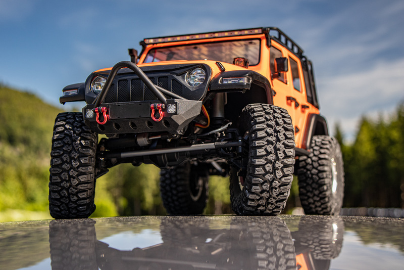 "1:10 EP Crawler CR3.4 ""SHERPA"" ORANGE RTR - Bild 15"