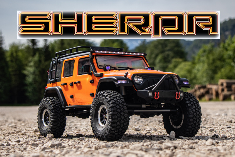 "1:10 EP Crawler CR3.4 ""SHERPA"" ORANGE RTR - Bild 17"