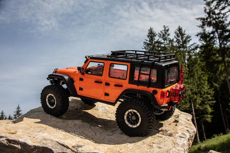 "1:10 EP Crawler CR3.4 ""SHERPA"" ORANGE RTR - Bild 4"