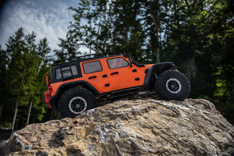 "1:10 EP Crawler CR3.4 ""SHERPA"" ORANGE RTR - Bild 5"