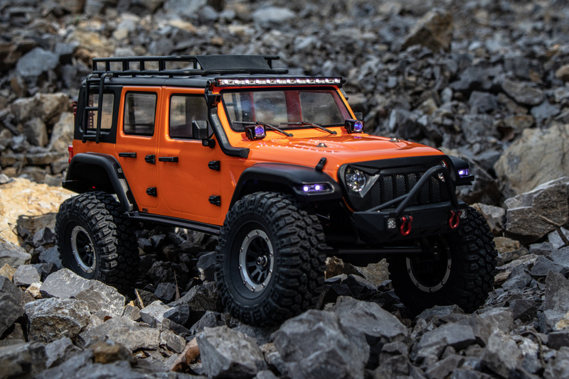 "1:10 EP Crawler CR3.4 ""SHERPA"" ORANGE RTR - Bild 6"