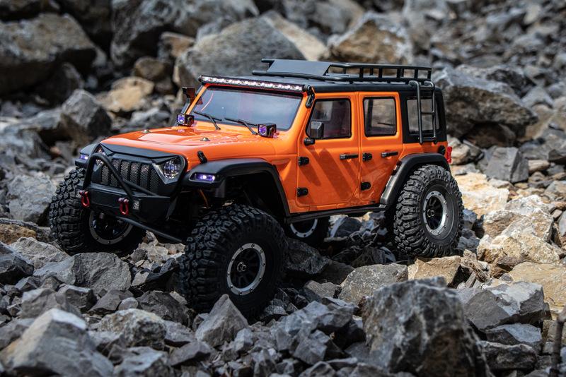 "1:10 EP Crawler CR3.4 ""SHERPA"" ORANGE RTR - Bild 7"