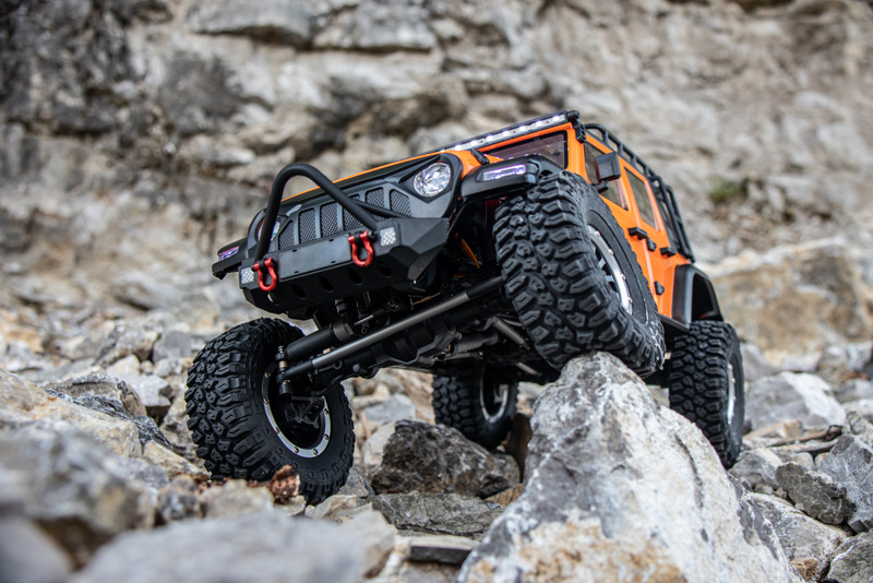 "1:10 EP Crawler CR3.4 ""SHERPA"" ORANGE RTR - Bild 8"