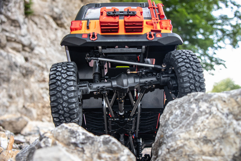 "1:10 EP Crawler CR3.4 ""SHERPA"" ORANGE RTR - Bild 9"