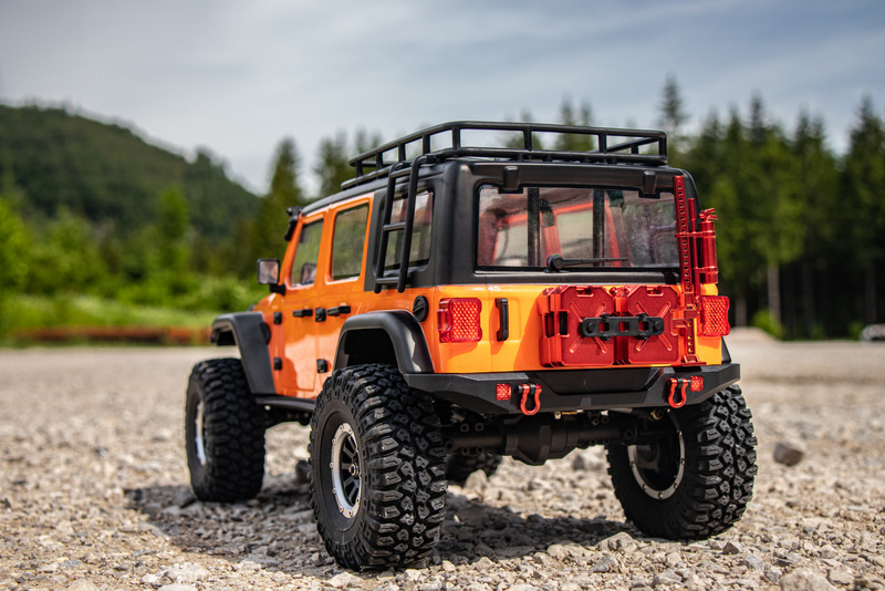 "1:10 EP Crawler CR3.4 ""SHERPA"" ORANGE RTR - Bild 10"