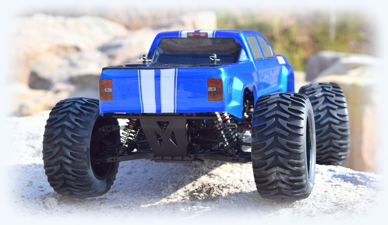 "1:10 EP Monster Truck ""AMT3.4BL"" 4WD Brushless RTR - Bild 3"