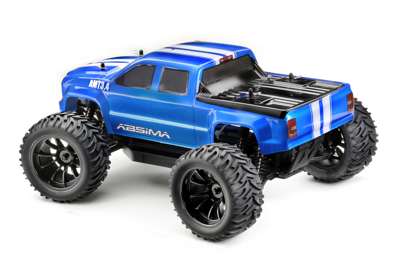 "1:10 EP Monster Truck ""AMT3.4BL"" 4WD Brushless RTR - Bild 5"