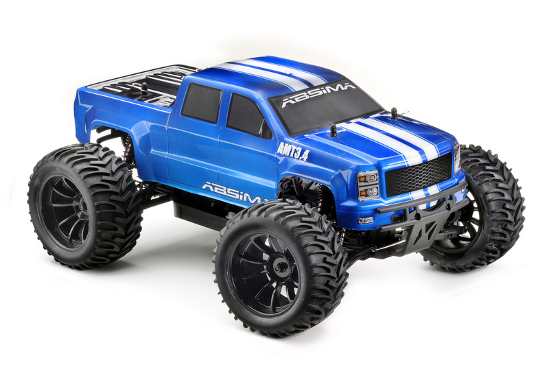 "1:10 EP Monster Truck ""AMT3.4BL"" 4WD Brushless RTR - Bild 6"
