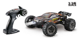 1:16 EP Truggy RACER schwarz/orange 4WD RTR