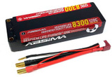 Absima Lipo 2S HC 120C 8000/8300HV 5mm incl. cable