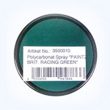 "Polycarbonat Spray ""PAINTZ BRIT. RACING GREEN"" 150ml"