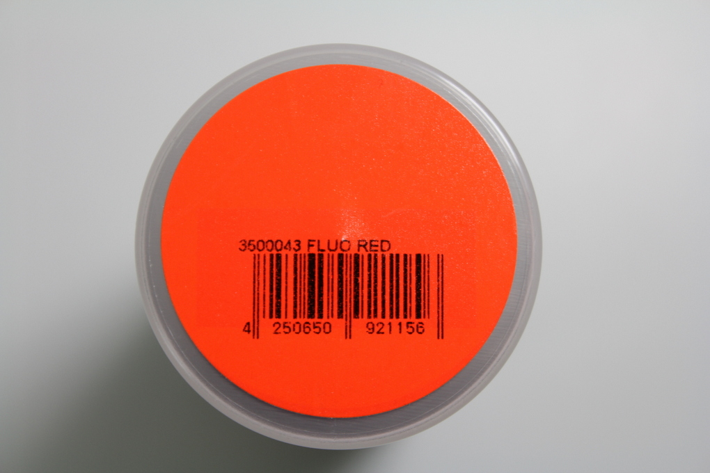"Polycarbonat Spray ""PAINTZ FLUO ROT"" 150ml - Bild 2"