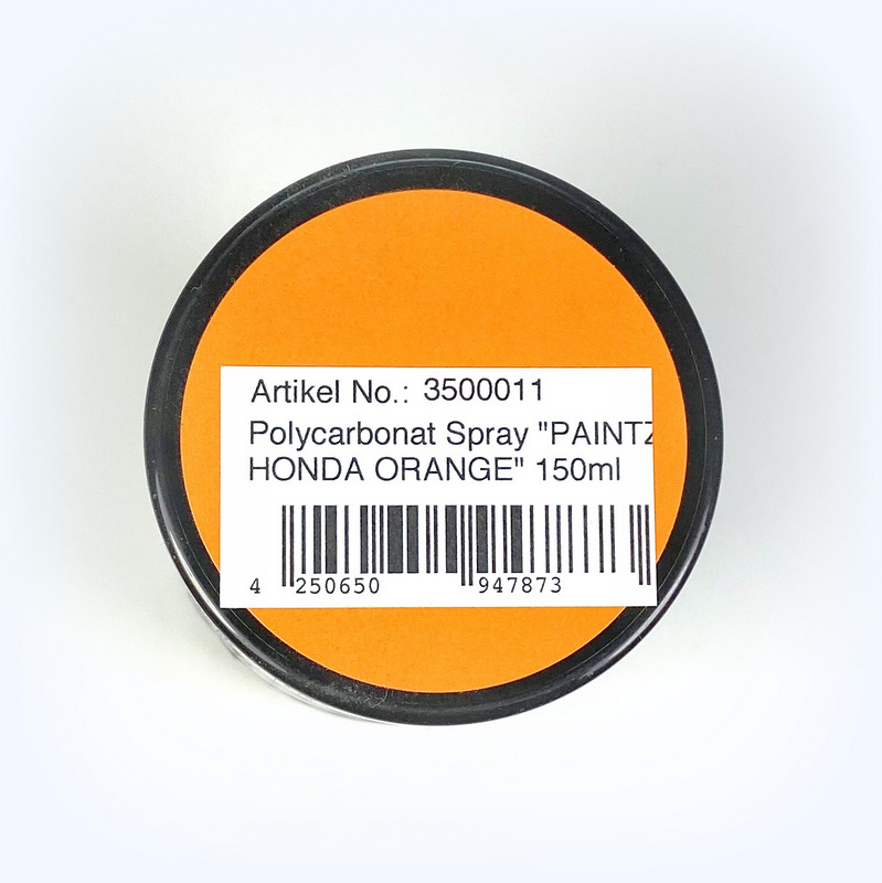 "Polycarbonat Spray ""PAINTZ HONDA ORANGE"" 150ml - Bild 2"