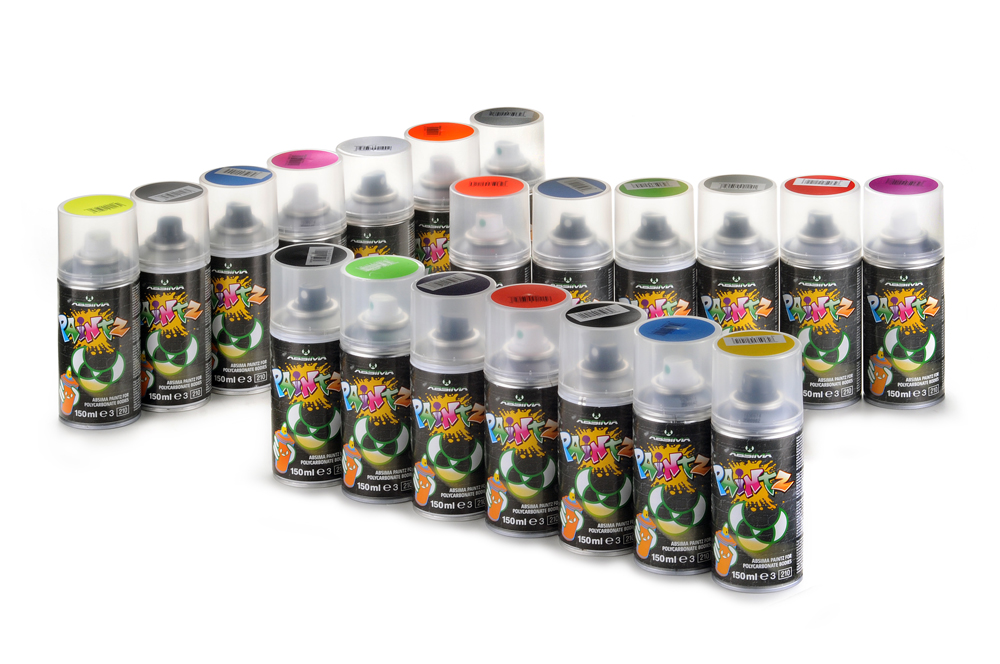 "Polycarbonat Spray ""PAINTZ SILBER FLAKE"" 150 ml - Bild 2"