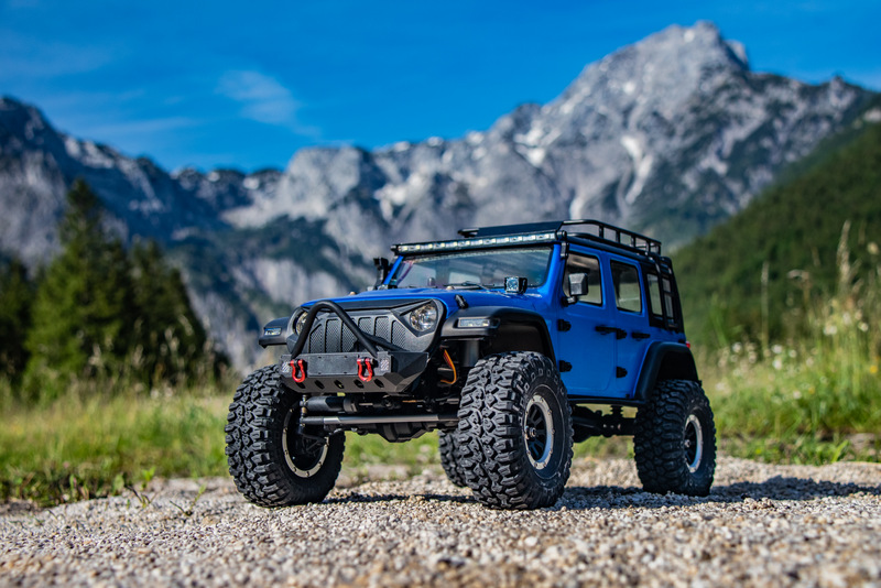 "1:10 EP Crawler CR3.4 ""SHERPA"" BLUE RTR - Image 11"