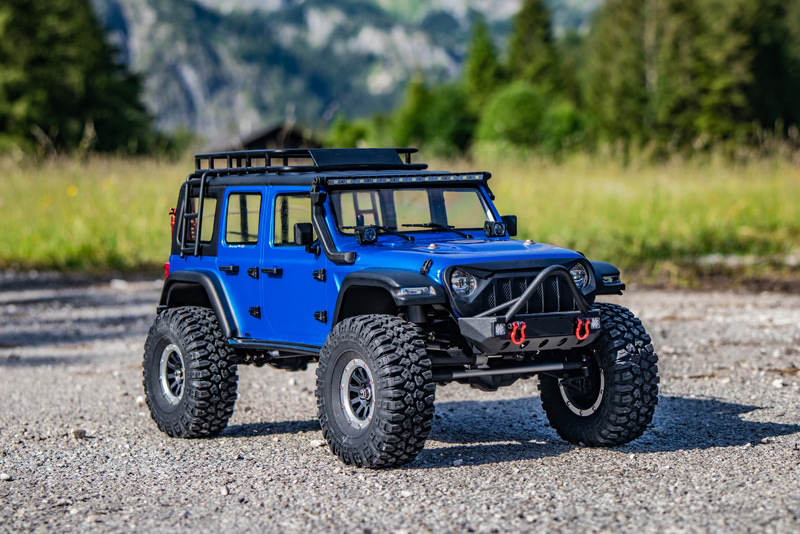 "1:10 EP Crawler CR3.4 ""SHERPA"" BLUE RTR - Image 12"