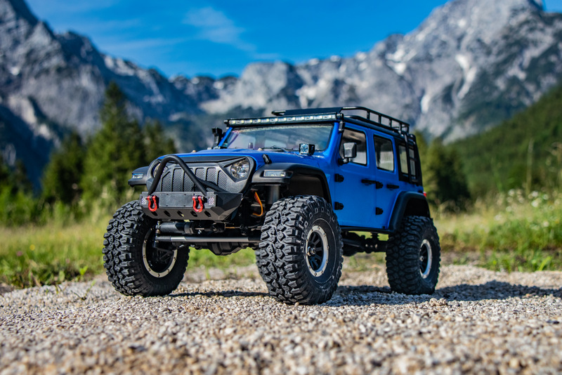 "1:10 EP Crawler CR3.4 ""SHERPA"" BLUE RTR - Image 13"