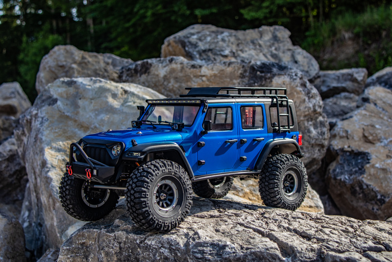 "1:10 EP Crawler CR3.4 ""SHERPA"" BLUE RTR - Image 14"