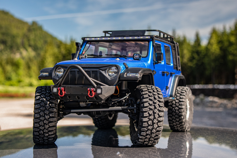 "1:10 EP Crawler CR3.4 ""SHERPA"" BLUE RTR - Image 16"