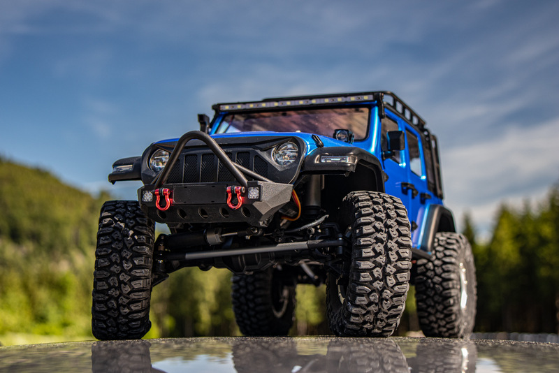 "1:10 EP Crawler CR3.4 ""SHERPA"" BLUE RTR - Image 17"