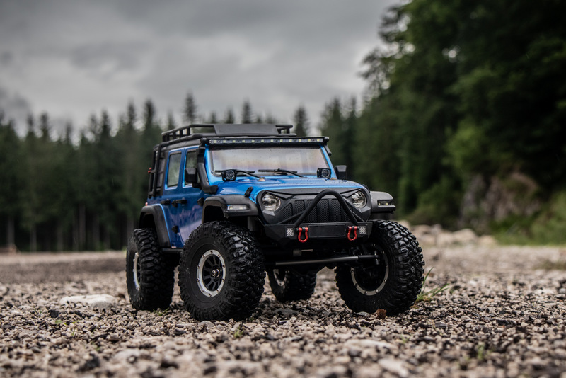 "1:10 EP Crawler CR3.4 ""SHERPA"" BLUE RTR - Image 19"