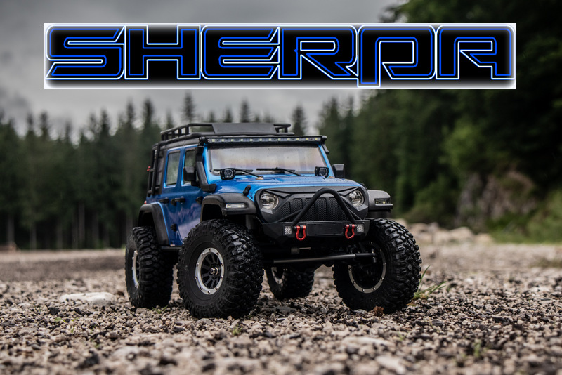 "1:10 EP Crawler CR3.4 ""SHERPA"" BLUE RTR - Image 20"
