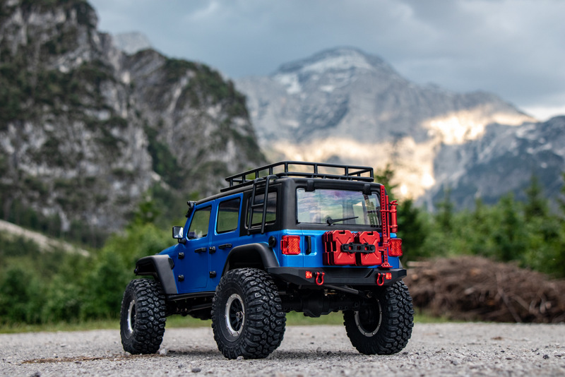 "1:10 EP Crawler CR3.4 ""SHERPA"" BLUE RTR - Image 5"