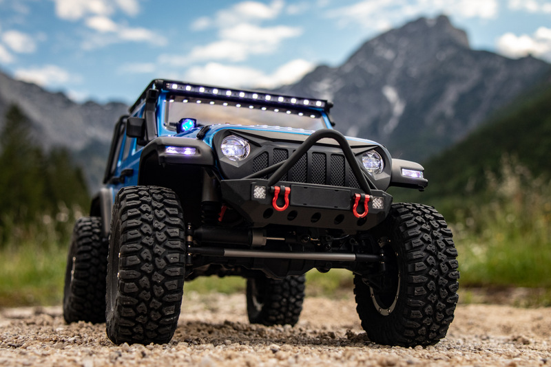 "1:10 EP Crawler CR3.4 ""SHERPA"" BLUE RTR - Image 7"