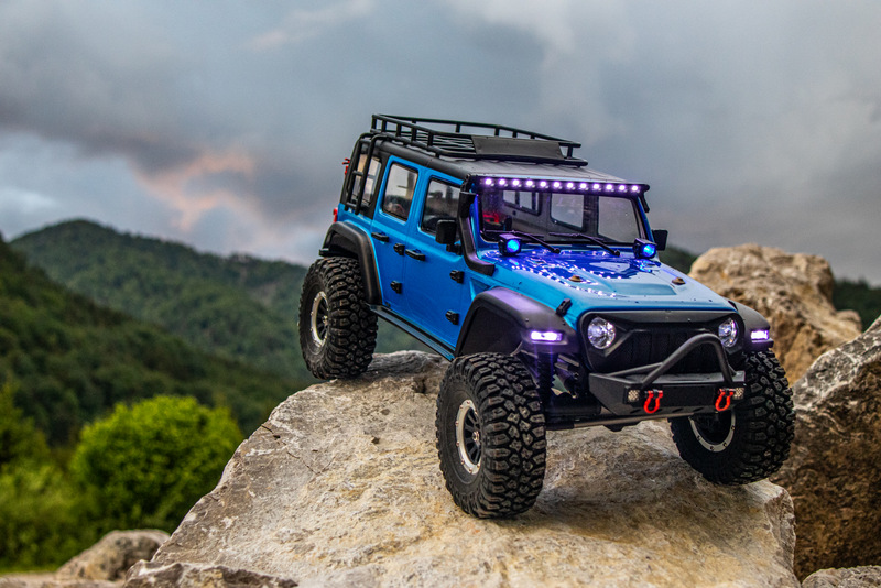 "1:10 EP Crawler CR3.4 ""SHERPA"" BLUE RTR - Image 10"