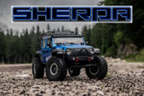 "1:10 EP Crawler CR3.4 ""SHERPA"" BLUE RTR"