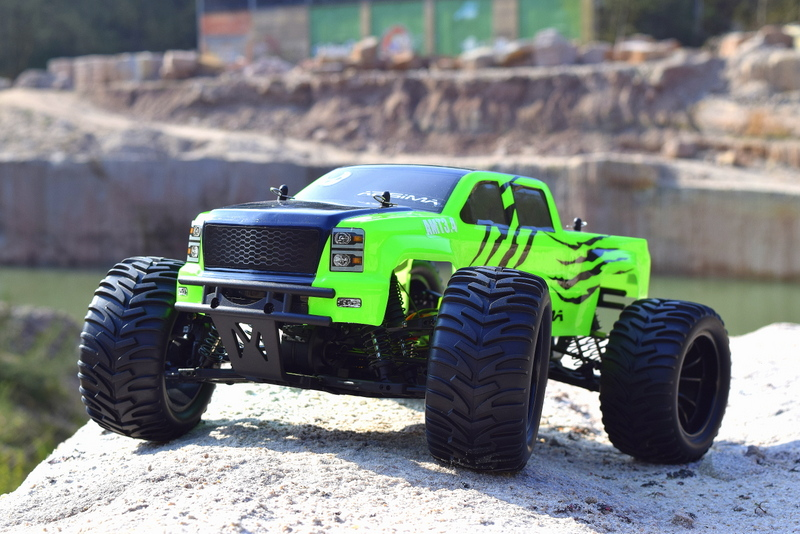 Monster Truck Rc Cars >> 1 10 Ep Monster Truck Amt3 4 4wd Rtr Rc Off Road Electric Rc Cars
