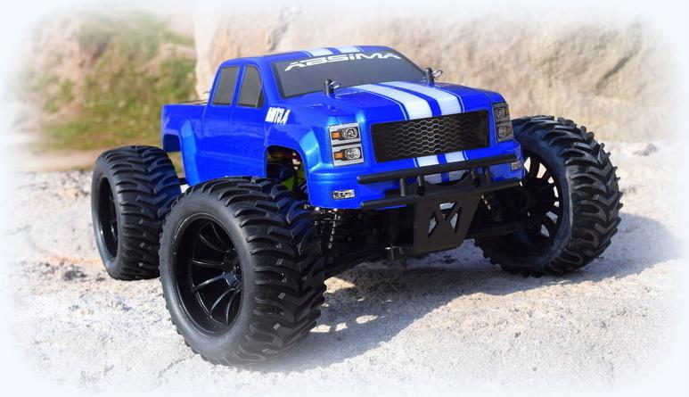 Monster Truck Rc Cars >> 1 10 Ep Monster Truck Amt3 4bl 4wd Brushless Rtr