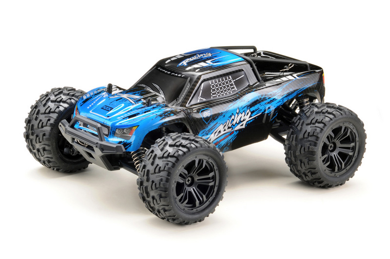 1:14 Monster Truck RACING black/blue 4WD RTR - Image 1