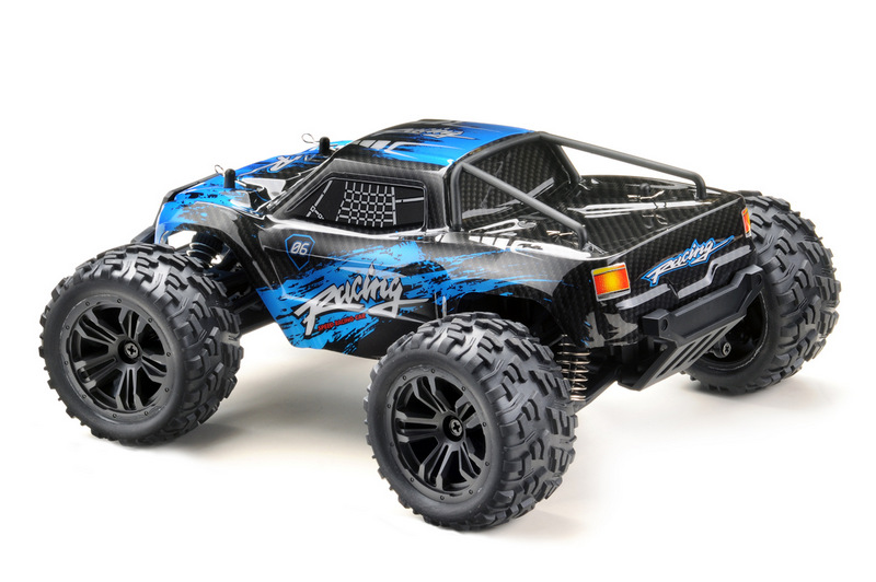1:14 Monster Truck RACING black/blue 4WD RTR - Image 2