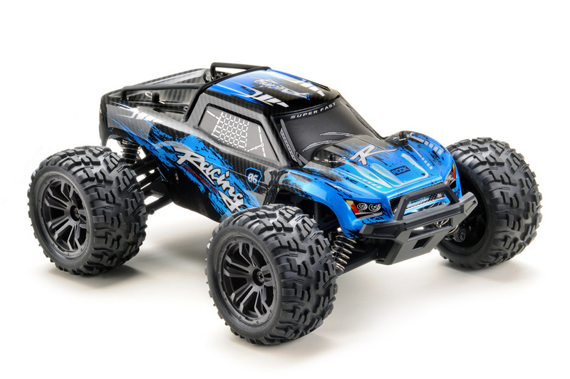 1:14 Monster Truck RACING black/blue 4WD RTR - Image 3