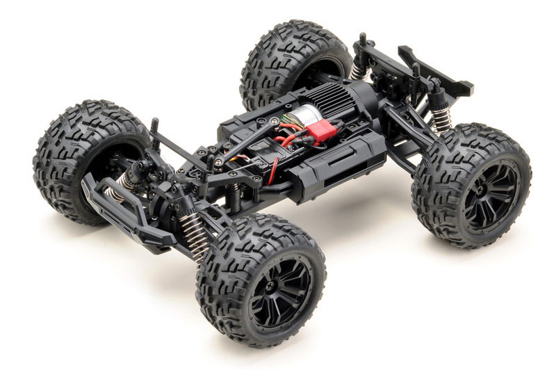 1:14 Monster Truck RACING black/blue 4WD RTR - Image 4