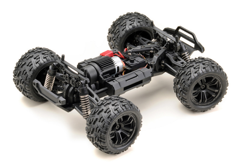 1:14 Monster Truck RACING black/blue 4WD RTR - Image 5