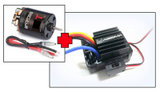 "Electric Motor ""Thrust B-Spec"" 55T + 1:10 Brushed ESC for Crawler & Boat, 40A"