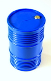 Plastic oil tank, Blue