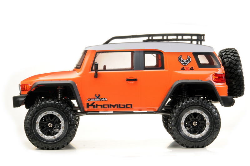 "1:10 EP Crawler CR3.4 ""KHAMBA"" ORANGE RTR - Image 2"