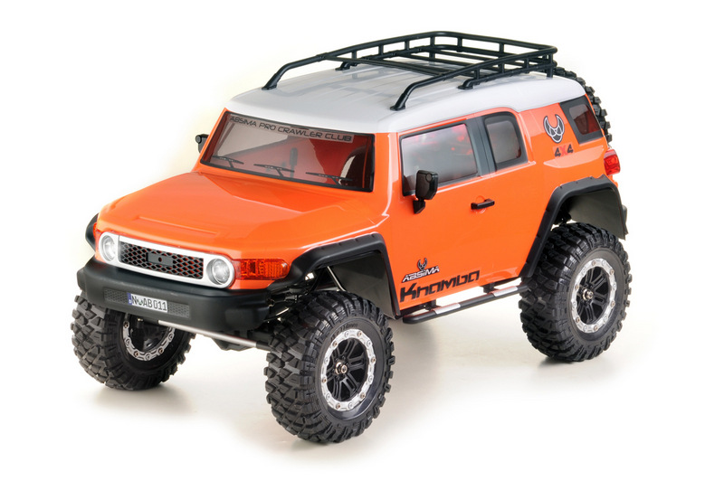 "1:10 EP Crawler CR3.4 ""KHAMBA"" ORANGE RTR - Image 3"