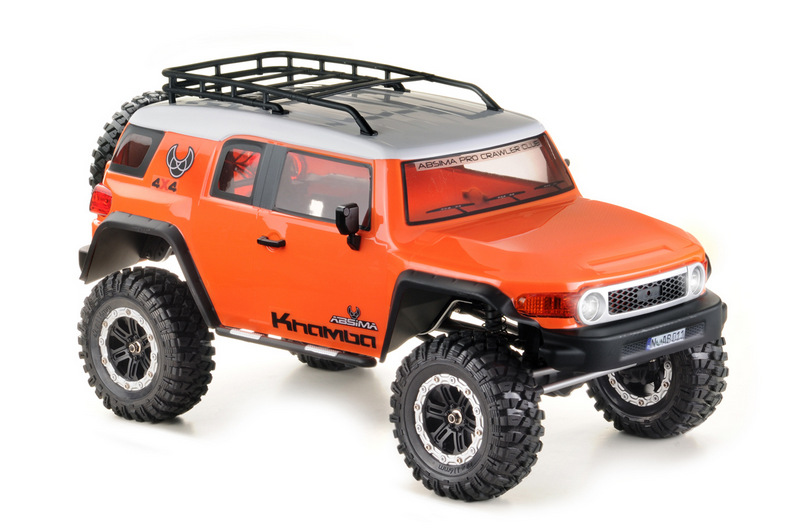 "1:10 EP Crawler CR3.4 ""KHAMBA"" ORANGE RTR - Image 4"