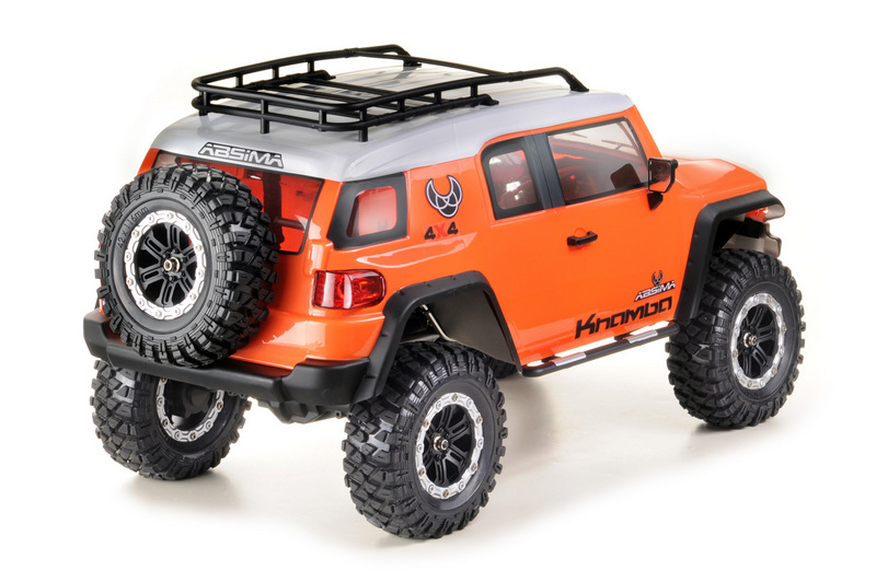 "1:10 EP Crawler CR3.4 ""KHAMBA"" ORANGE RTR - Image 5"