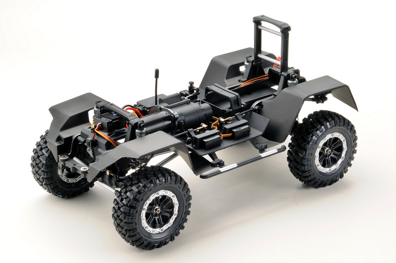 "1:10 EP Crawler CR3.4 ""KHAMBA"" ORANGE RTR - Image 6"